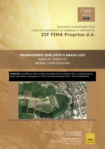 Banja Luka - FIMA Global Invest