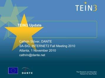TEIN3 Update