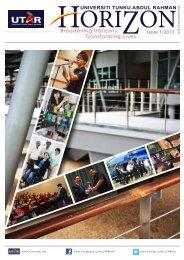 Issue 1/2013 - Universiti Tunku Abdul Rahman
