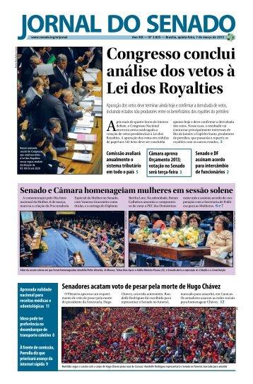 Jornal do Senado - Senado Federal