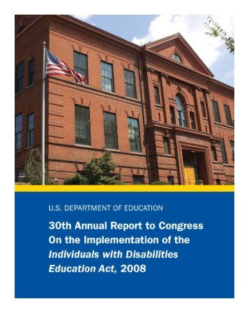 30th Annual Report to Congress on the Implementation - U.S. ...