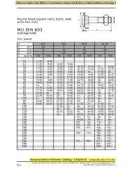 MU DIN 603 - Maryland Metrics