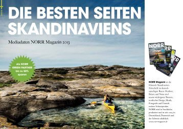 Mediadaten NORR Magazin 2013