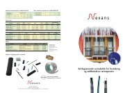 defrost pipe - Nexans