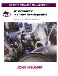 HYDROVEX® IHV / HHV Flow Regulators - Veolia Water Solutions ...