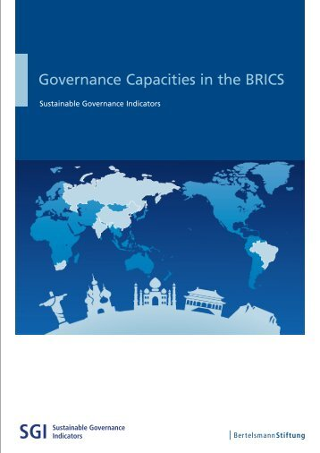 Governance Capacities in the BRICS - SGI