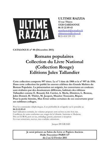 Catalogue 40 - Livre Rare Book