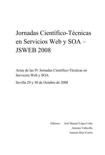 JSWEB 2008 - Grupo Alarcos - Universidad de Castilla-La Mancha