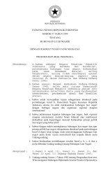 Undang-Undang Nomor 37 Tahun 1999 - Produk Hukum