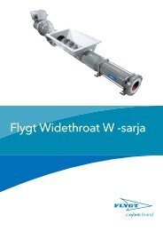 Flygt Widethroat W -sarja - Water Solutions