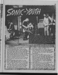 Sonic Youth - Trash Fever