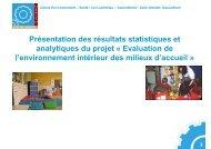 Présentation des résultats statistiques et analytiques du projet ...