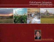 Federal grants - Congressman Adrian Smith - House of ...