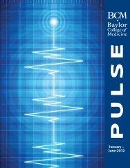 January – June 2012 - Baylor College of Medicine