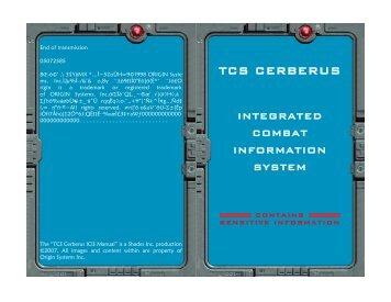 TCS CERBERUS