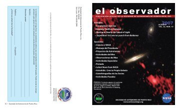 el obser vador - The Department of Physics and Astronomy