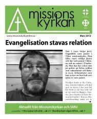 Evangelisation stavas relation - Missionskyrkan Tibro