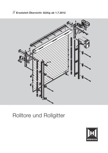Rolltore und Rollgitter - Hörmann KG