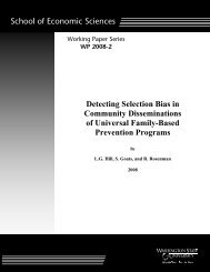Detecting Selection Bias in Community Disseminations of Universal ...