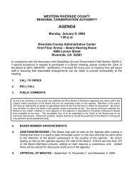 Agenda/Reports (1.63 MB) - Western Riverside County Regional ...