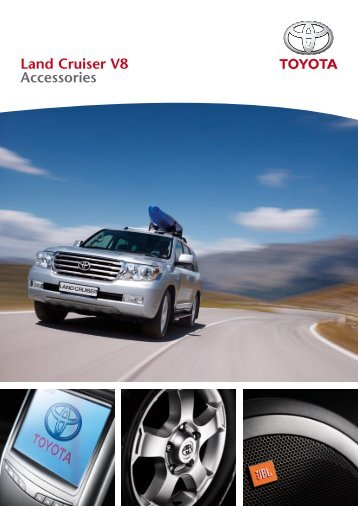 Land Cruiser V8 Accessories - Toyota