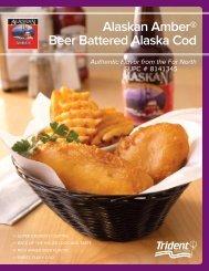 Alaskan Amber® Beer Battered Alaska Cod