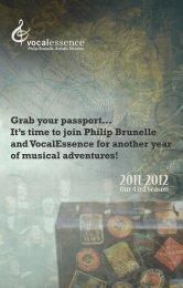Download the 11-12 Season Brochure (PDF) - VocalEssence