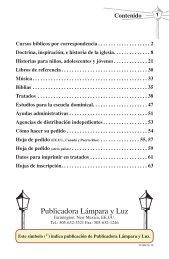 Publicadora Lámpara y Luz - El Cristianismo Primitivo