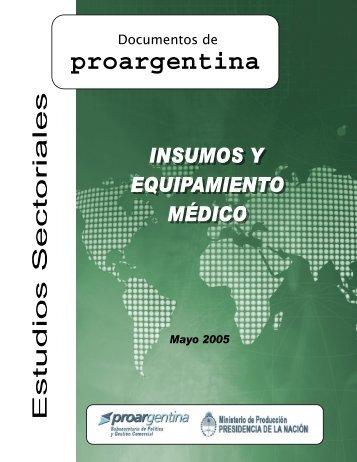 Sectorial_Insumos_ Medico - ProArgentina.Gov.Ar