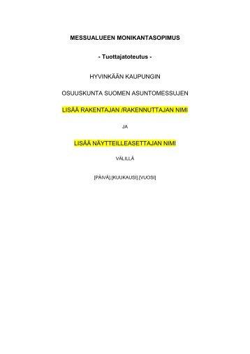 Monikantasopimus-malli _tuottajatoteutus_.pdf - Asuntomessut