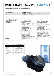 PS600 BADU Top 12 - Esomatic.de