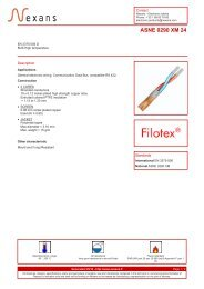 ASNE 0290 XM 24 - EN 3375-006 D - Nexans
