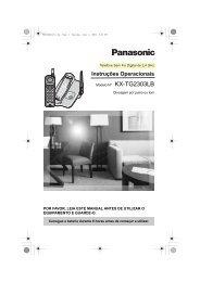 KX-TG2303LB.pdf - Panasonic