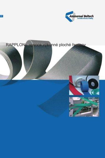RAPPLON® vysoce výkonné ploché řemeny