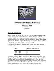 1990 Roush Racing Mustang