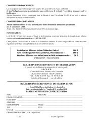 entre mythe et réalité ? - 21 oct 2011 - Bulletin - Capgeris