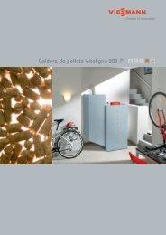 Caldera de pellets Vitoligno 300-P - Viessmann