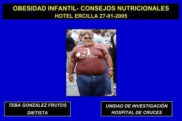Obesidad infantil. Consejos nutricionales
