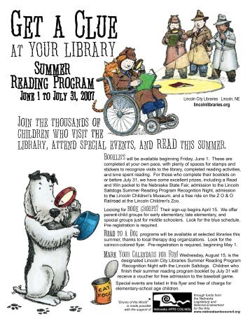 370 Informational Flyer.cdr - Lincoln City Libraries