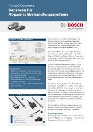 Sensoren für Abgasnachbehandlungssysteme - Bosch Automotive ...