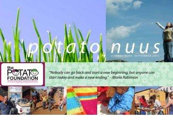September 2011 Nuusbrief - The Potato Foundation