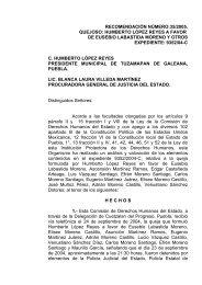 recomendación número:35/2005. quejoso: humberto lópez reyes a ...