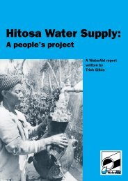 Hitosa water supply: a people's project - watsanmissionassistant