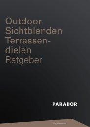 Parador Sichtblenden/Terrassendielen Ratgeber - Sperrholz-Beck ...