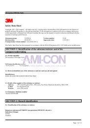 3M EC 3950 MSDS - AMI-CON