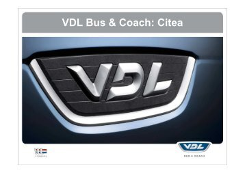 PP VDL Citea Produktprogramm Kunden - Omnibusvertrieb Ost