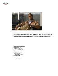 Cisco Unified IP-Telefone 8961, 9951 und 9971 für Cisco ... - ZID