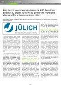 comme maître d'œuvre de son projet JuRoPA (Jülich ... - Bull - Page 4