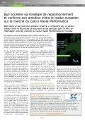 comme maître d'œuvre de son projet JuRoPA (Jülich ... - Bull - Page 5