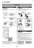 VQ100 High Speed Solenoid Valve - Page 4